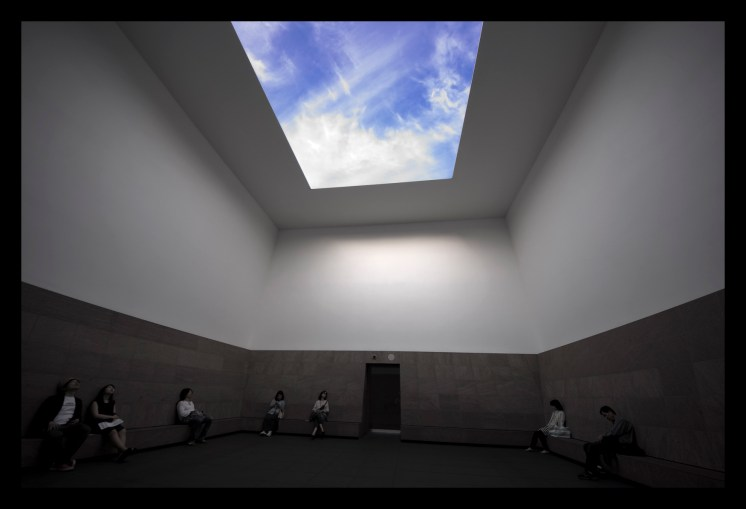 James Turrell, 'Afrum, Pale Blue', 1968 © Fujitsuka Mitsumasa, Image courtesy of Chichu Art Museum